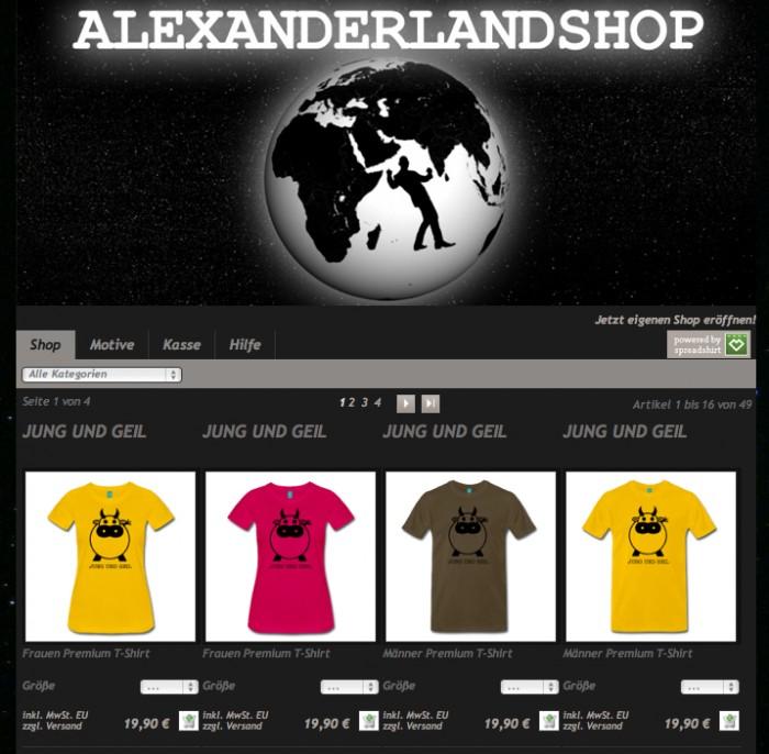 Alexanderlandshop